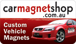 Car Magnets and Magnetic Signs - carmagnetshop.com.au - Quality Full Colour Car and Vehicle Magnets