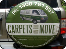 Carpets on the Move Custom Spare Wheel Cover