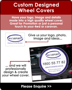 Personalised Spare Tyre Covers